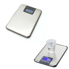 5kg 1g Slim Stainless Steel Digital Scale Electronic Kitchen Food Touch Weight