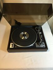 Vintage Dual 1249 Stereo Automatic Turntable Shure Super Tracker Plus With Cover