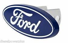 ford motor logo truck diesel metal Hitch plug cover hider insert receiver reese