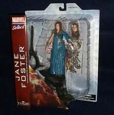 "Marvel Select Movie Thor 2: The Dark World JANE FOSTER 7"" Figure Natalie Portman"