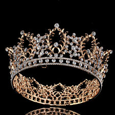 Bridal Rhinestone Crystal Crown Tiara Headband Wedding Hair Accessories Pageant