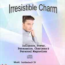 Irresistible Charm Charisma Mind Control Personal Magnetism Music Subliminal  CD