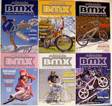 Classic BMX Magazine 6 Issues Old School Hutch Mongoose Skyway Redline Haro GT