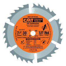 """CMT 256.030.07-X10 ITK Industrial Combination Saw Blade Masterpack 7-1/4"""" 10Pack"""