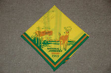 signed 1969 BSA National Jamboree, Farragut State Park, Idaho, USA Neckerchief