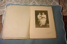 Vintage Studio Photograph Mother and Son