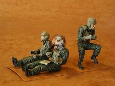 CMK 1/35 US Army UH-60 Black Hawk Crew Pilots + Door Gunner (3 Figures) F35070