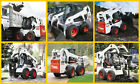 SYDNEY MACHINERY HIRE BOBCAT SKID STEER LOADER DRY HIRE - 4IN1 BUCKET & TRAILER