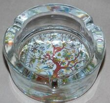 NEW TREE OF LIFE  DECORATIVE GLASS ASHTRAY SMOKING VESSEL HOLDER