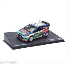 MINI CAR RALLY,  FORD FIESTA RS WRC - IXO 1/43 M.HIRVONEN-J. LEHTINEN - dRAL002