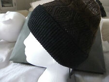 ALL SAINTS WILBI BEANIE   BNWT   CINDER Three Color  Lambswool/cashmere