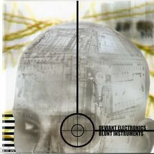 Deviant Electronics - Blunt Instruments - CD Album - DRUM & BASS BREAKBEAT