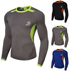 New Men Compression Base Layer Tight Top Shirt Under Skin Long Sleeve T-Shirts