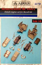 Aires 1/48  Messerschmitt Me410A-1 Engine Detail Set # 4170