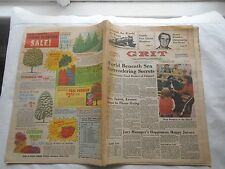 GRIT-AMERICA'S FAMILY NEWSPAPER-FEB. 12,1978-HENRY WINKLER:OUTGROWING THE FONZ