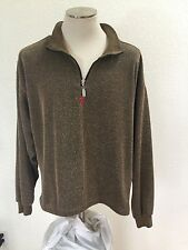 Men's Specialized Long sleeve Half Zip Fleece Jacket Size L     GR0601