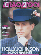 CIAO 2001 11 1989 Holly Johnson Elvis Costello Vixen Yes Big Country Xtc Paoli