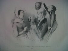France Very Old book year 1840 Paris Musee pour rire Caricaturistes 51 Cartoons