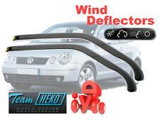 Volkswagen Polo 2001- Hatchback 3 doors Wind Deflectors HEKO (31139)