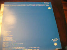 The Plastic Ono Band; Live Peace in Toronto 1969  on LP