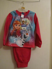 Girls Pink Winter Magic Long Sleeve Disney Frozen Pyjama Set - 4 years - BNWT