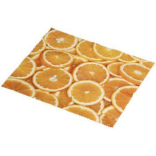 Microfibre Camera Lens Eyeglass Glasses Cleaning Cloth - Oranges