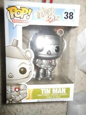 FUNKO POP TIN MAN #38 Wizard of Oz RARE VAULTED RETIRED
