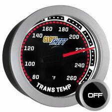 52mm Tinted GlowShift Transmission Temperature Gauge w Sensor - GS-T12