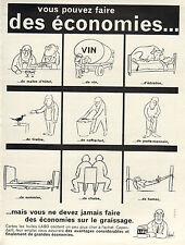 Publicité Advertising 1963  Huile LABO