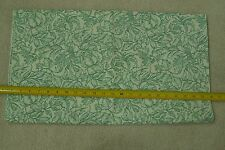 "By-the-Half-Yard, 44"", Large Green Leaves on Cream Quilter's Cotton, VIP, M5616"