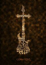 Skillet Christian Rock Band Fabric Art Cloth Poster 32inch x 24inch Decor 13