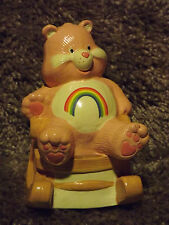 Vintage Care Bear ~ Cheer Bear ~ ROCKING Music Box ~ American Greetings