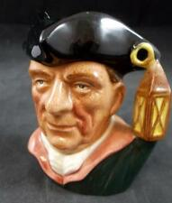 Royal Doulton CHARACTER JUGS FROM WILLIAMSBURG Night Watchman GREAT CONDITION