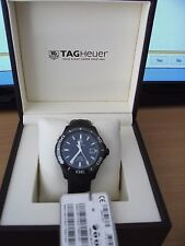TAG Heuer Men's Aquaracer Analog Display Swiss Automatic Black Watch