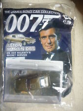 JAMES BOND CAR COLLECTION 007 12 ASTON MARTIN DB5 OHMS SEALED!