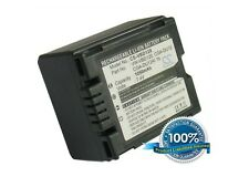 7.4 V Batteria per PANASONIC NV-GS21, PV-GS250, nv-gs158gk, DZ-MV380E, NV-GS37, DZ