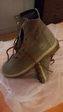 timberland men Boots size 8.5 W UK , denim / cotton made soft , strong boots