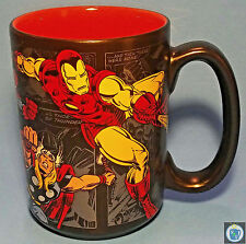 MARVEL Avengers Disney Store Coffee Mug Comics 16oz Cup