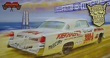 CHRYSLER 300B 300 B 1956 TIM FLOCK NASCAR MOEBIUS MODELS 1212 1:25 PLASTIC KIT