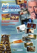 DR WHO Trading Cards Sale Sheet  BIG SCREEN SELL SHEET
