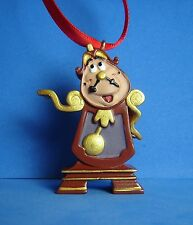Beauty and the Beast Sketchbook Ornament Cogsworth Clock LE 1200 from Deluxe Set