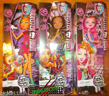 MONSTER HIGH FREAKY FIELD TRIP DOLL SET TORALEI CLAWDEEN GIGI LOT 3 NEW IN HAND