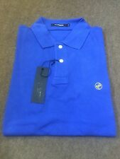 Peter Werth Small Logo Polo/Cobalt Blue - Small