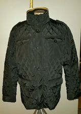 BRANDED SPIRITS BLACK PUFFER WINTER COAT JACKET MENS L SKI BAR ICE FOX VODKA