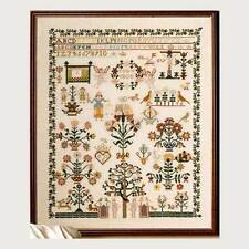 Permin of Copenhagen Celle 1808 Antique Sampler Counted Cross Stitch kit