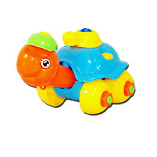 Baby Gift Disassembly Turtle Car Design Educational plastic toys for children  1
