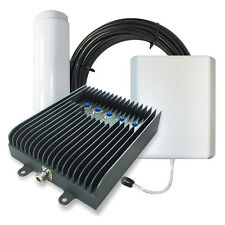 SureCall Fusion5s Home Cell Phone Signal Booster w/ Omni and Panel Antennas