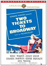 TWO TICKETS TO BROADWAY (1951 Janet Leigh) Remastered Region Free DVD - Sealed