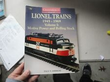 Greenberg's Guide to Lionel Trains 1945-1969 Vol. I Motive Power & Rolling