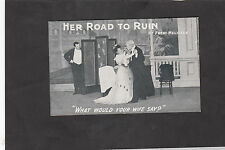 C1909 from the Play'Her Road to Run'by Fred Melville-What would your wife say